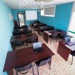 Aula para cursos de informática en RCM FORMACIÓN en Palencia