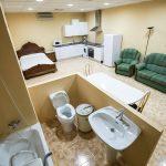 Aula para cursos de atención sociosanitaria y enfermería en RCM FORMACIÓN en Palencia