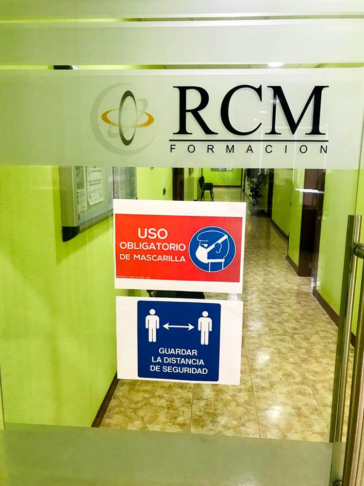 Reanudación de cursos en RCM Formación en Palencia
