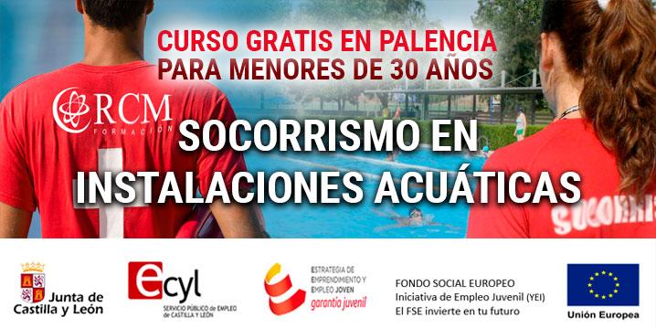 Curso Gratis en Palencia: Socorrismo en instalaciones acuáticas